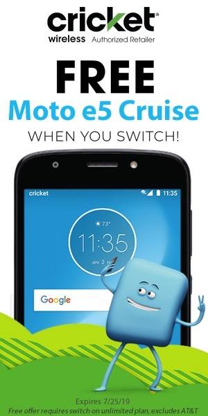 Cricket Wireless - Deals on Moto e5 Cruise Phones